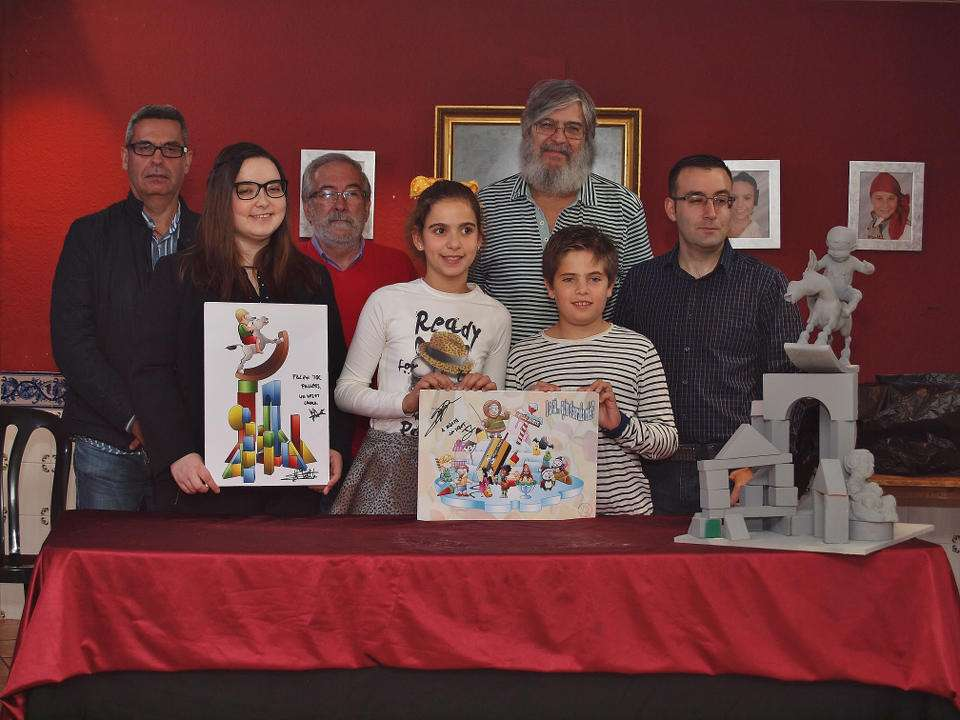 The Falla of Norte-Dr. Zamenhoff 'El Clavell' submitted its Sketches for the Fallas 2018 1