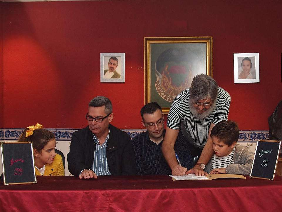 The Falla of Norte-Dr. Zamenhoff 'El Clavell' submitted its Sketches for the Fallas 2018 4