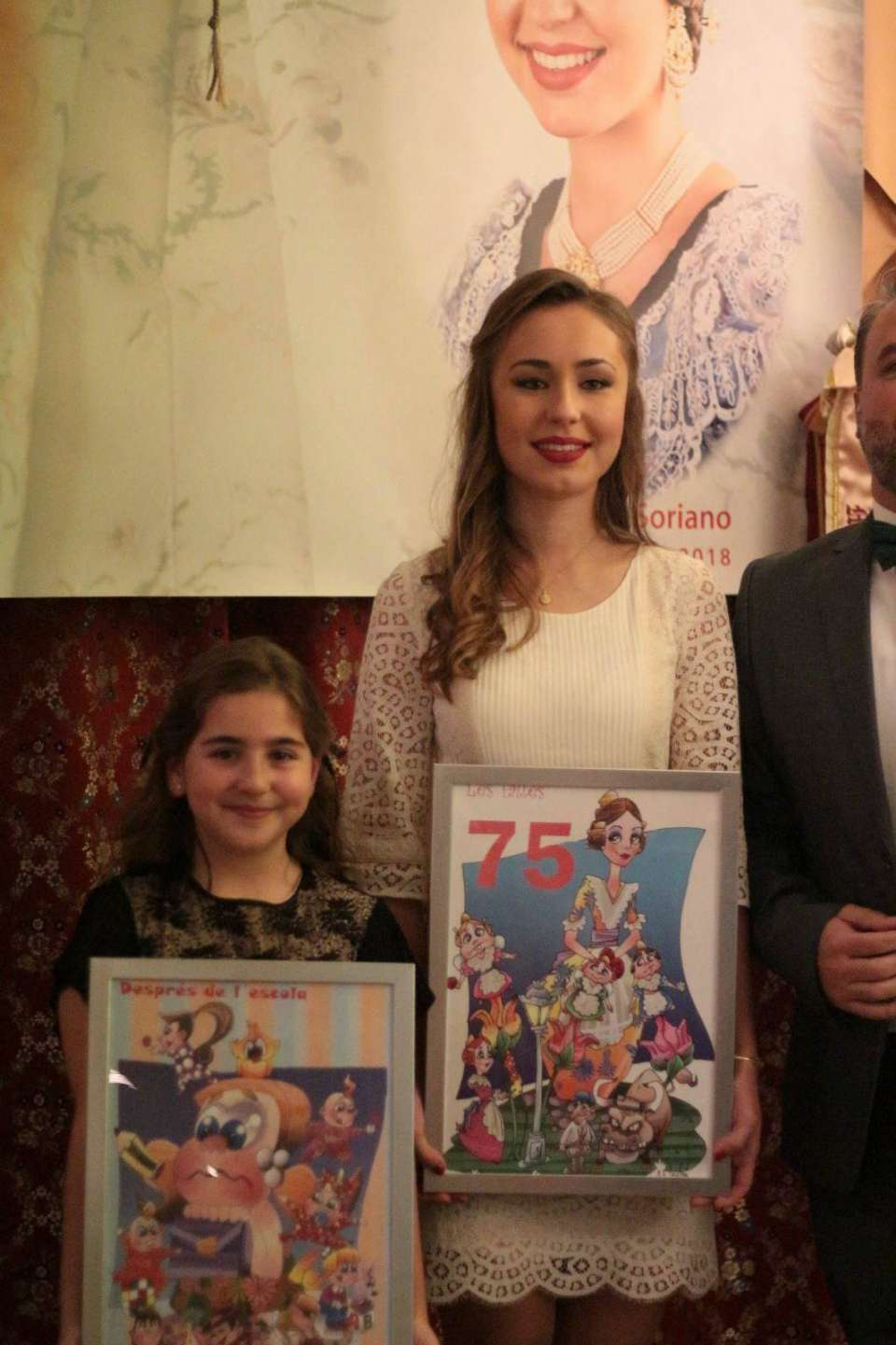 The Falla Quart-Turia proclaimed their Falleras Mayores for the Fallas 2018