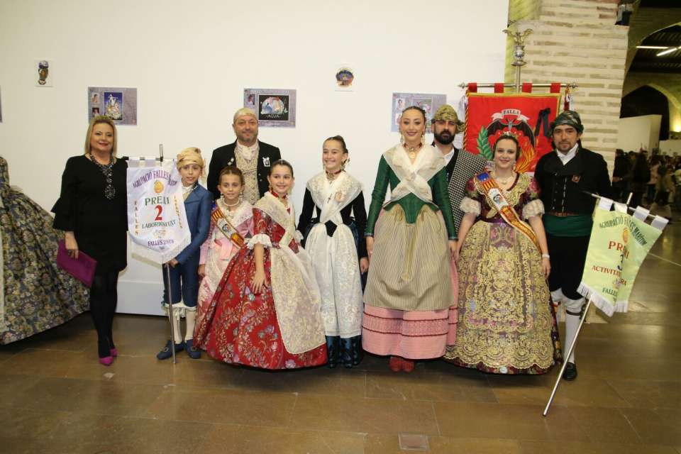 The Grouping of Fallas of the Maritime presented the Sketches of the Fallas 2018