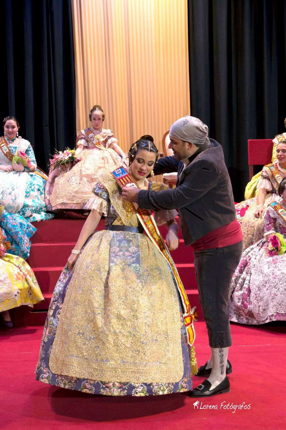 The Falla Benicalap exalted their Falleras Mayores for the Fallas 2018