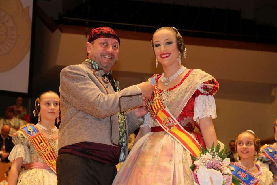 The Grouping of Fallas Maritime exalted their Falleras Mayores for the Fallas 2018 1