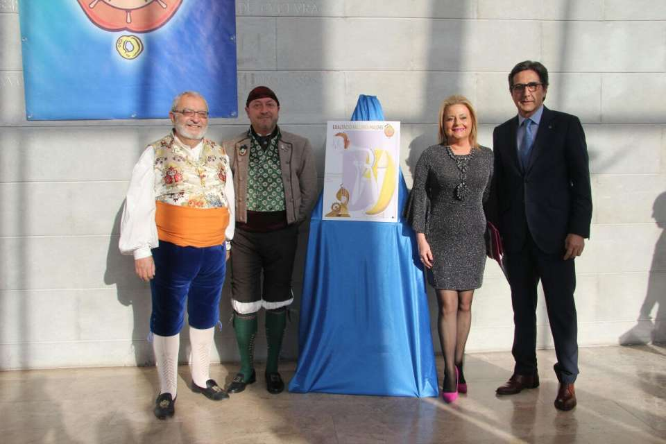 The Grouping of Fallas Maritime exalted their Falleras Mayores for the Fallas 2018 2