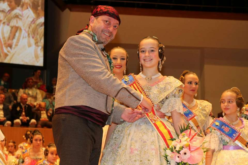 The Grouping of Fallas Maritime exalted their Falleras Mayores for the Fallas 2018 3