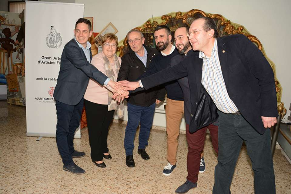 Fallas Museums of Valencia formalize Valencian Network of Museums Falleros