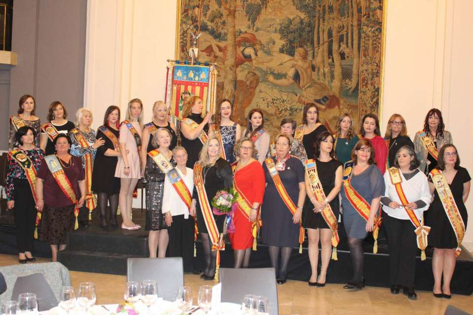The Falla Quart Turia held the gala for the 75th anniversary in the hotel Astoria in Valencia 2