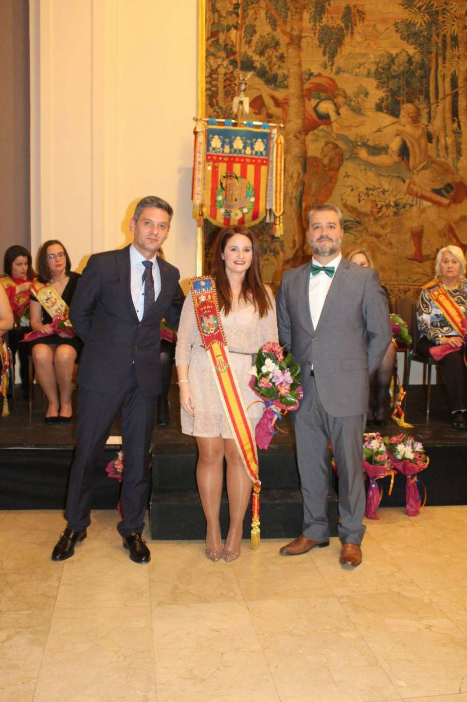 The Falla Quart Turia held the gala for the 75th anniversary in the hotel Astoria in Valencia 4