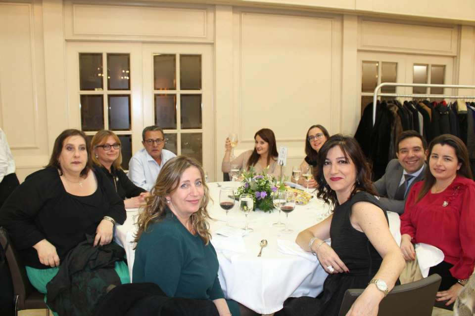 The Falla Quart Turia held the gala for the 75th anniversary in the hotel Astoria in Valencia 5