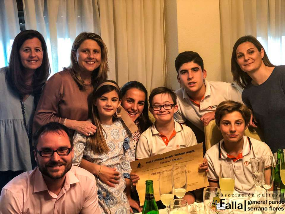 Representatives for Children of the General Falla Pando for Fallas 2019 1