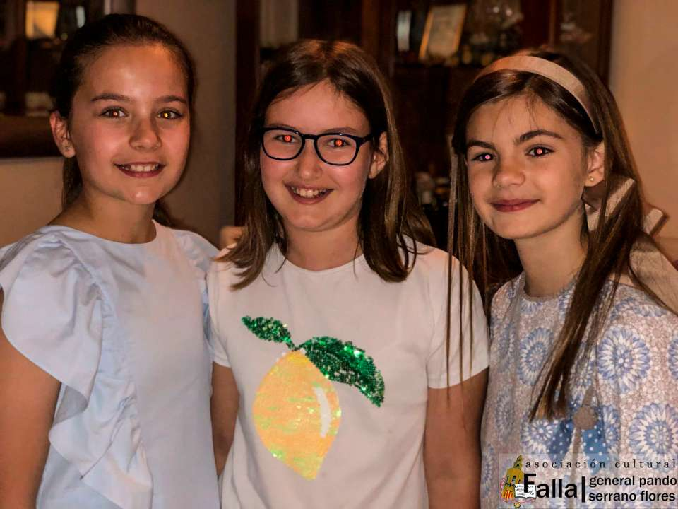 Representatives for Children of the General Falla Pando for Fallas 2019 3