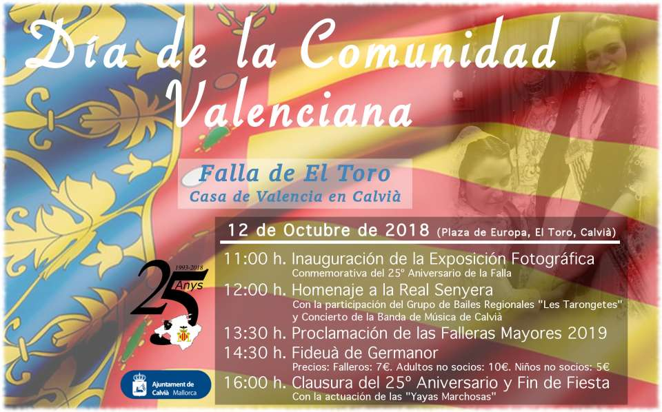Day of the Valencian Community in Mallorca