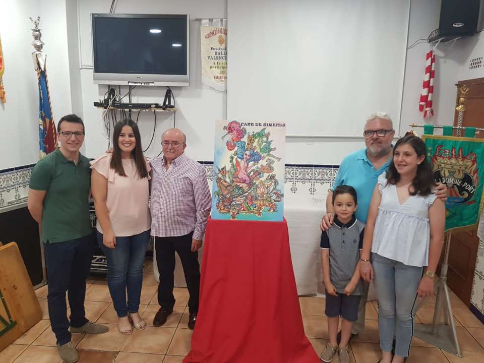 Dr. J.J.Dómine bets again for Fet d`encàrrec and Vicent Albert for the Fallas 2019