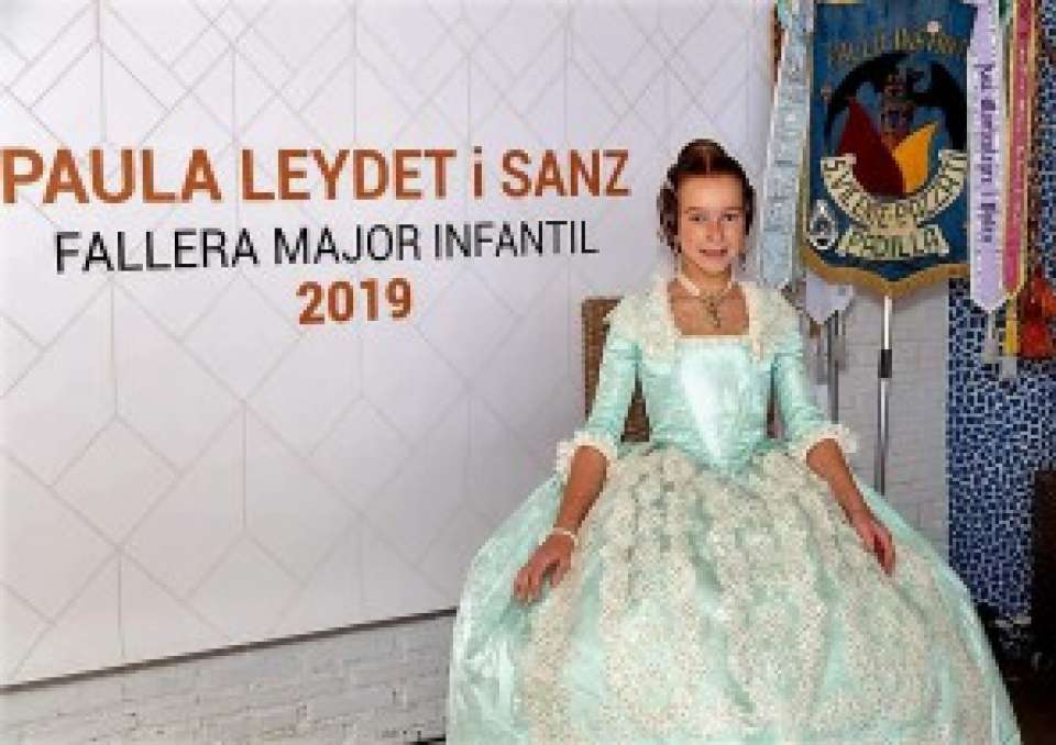 Esther León Jorge and Paula Leydet Sanz have been officially named as Falleras Mayores 2019