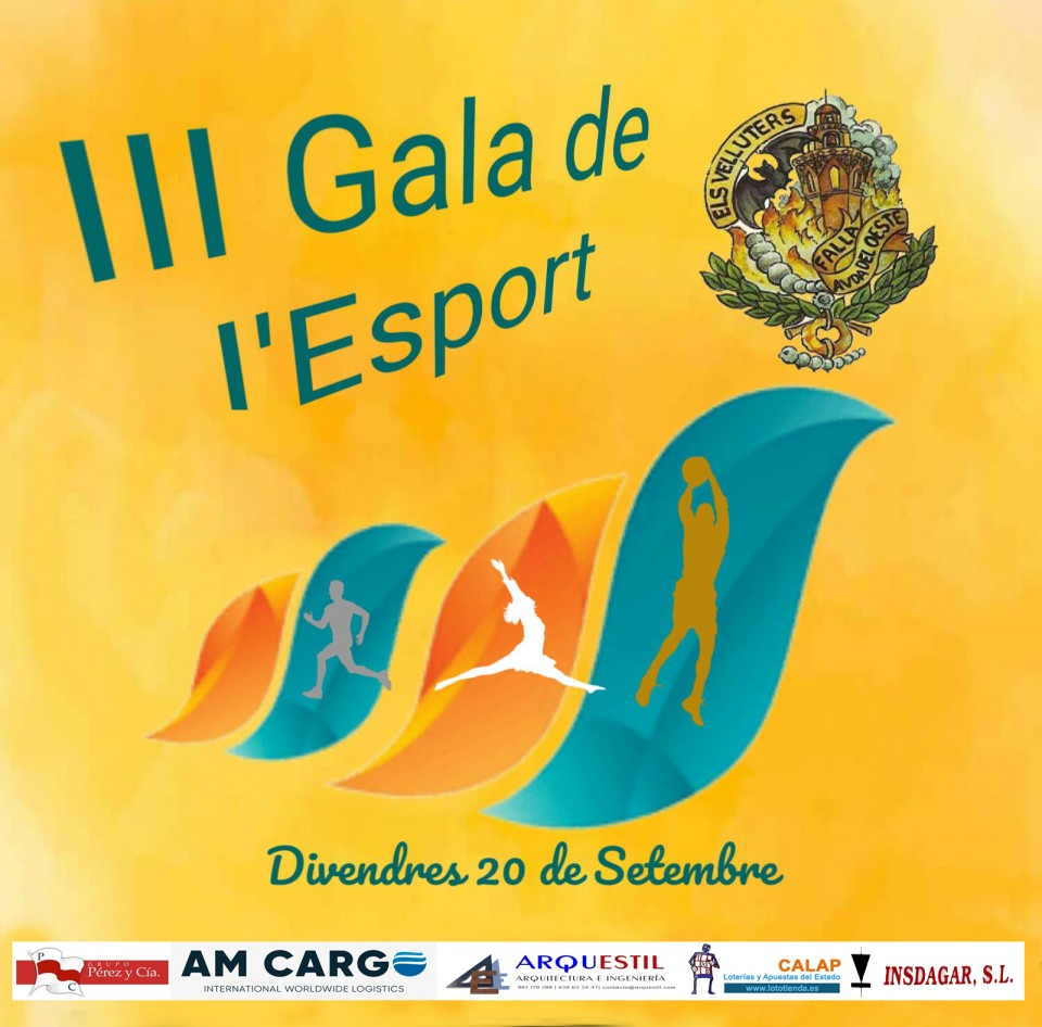 "III Sports Gala of the Fails Avenue de l Oest ""Els Velluters"""