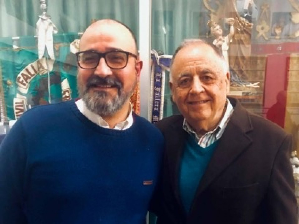 Presidents of the Falla Cuenca Tramoyeres-The Civil Guard for the Fallas 2020
