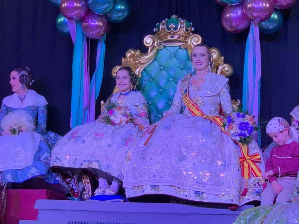 The Falla Cuba-Puerto Rico held the Presentation of their Falleras Mayores (for Fallas 2019