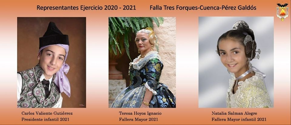 The Falla Tres Forques has decided that its representatives remain in the Falla-2021