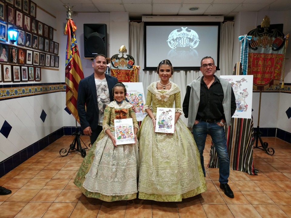 The Falla Castellón-Segorbe presented their sketches to the Fallas 2020