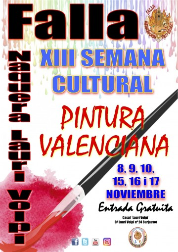 Cultural week of the Falla Naquera-Lauri Volpi