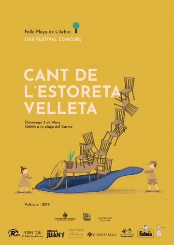 XXIX edition of the Contest of Posters advertising the Festival's Competition Cant of l Estoreta Vel