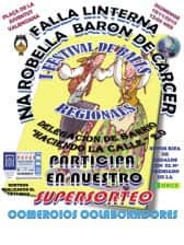 I Festival of regional dances of the Falla Linterna-Na Robella