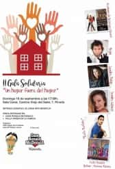 II solidarity Gala 'A home away from home' of Falla Virgin of the Cabeza-jose Maria Mortes Lerma