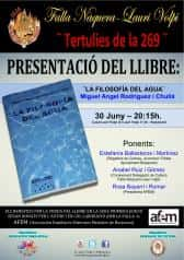 Presentation of the Book 'The philosophy of water', in the Falla Naquera-Lauri Volpi