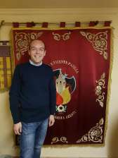 Miguel Angel Del Barrio De la Torre is elected as the new president of the Falla San Vicente-P. Azza