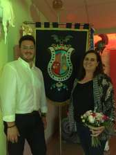 Cristina Hall and Abel Navarro new `Faguerers` of the festival of Sueca-Literato Azorín
