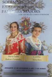 Exaltation of the Falleras Mayores of the Falla Islas Canarias -Trafalgar for the Fallas 2019