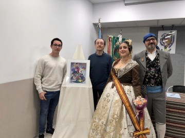 Presentation of Sketches in the Falla Cuenca Tramoyeres for the Fallas 2020