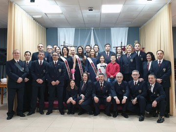 The Falleras Mayores of the Falla Antonio Molle were named Muses of Music 2019