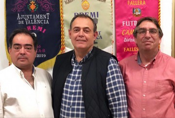 Triumvirate for the Fallas 2020 in the commission Dr. J. J. Dómine - Port