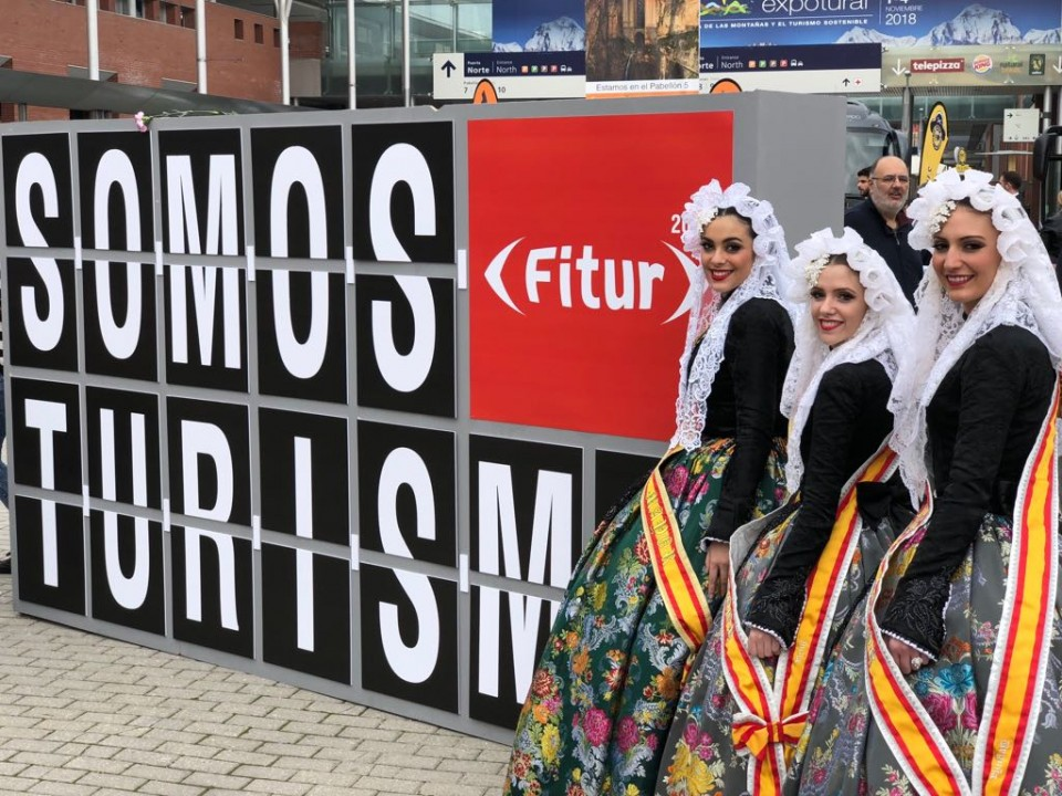 The Fallas of Elda travel to FITUR