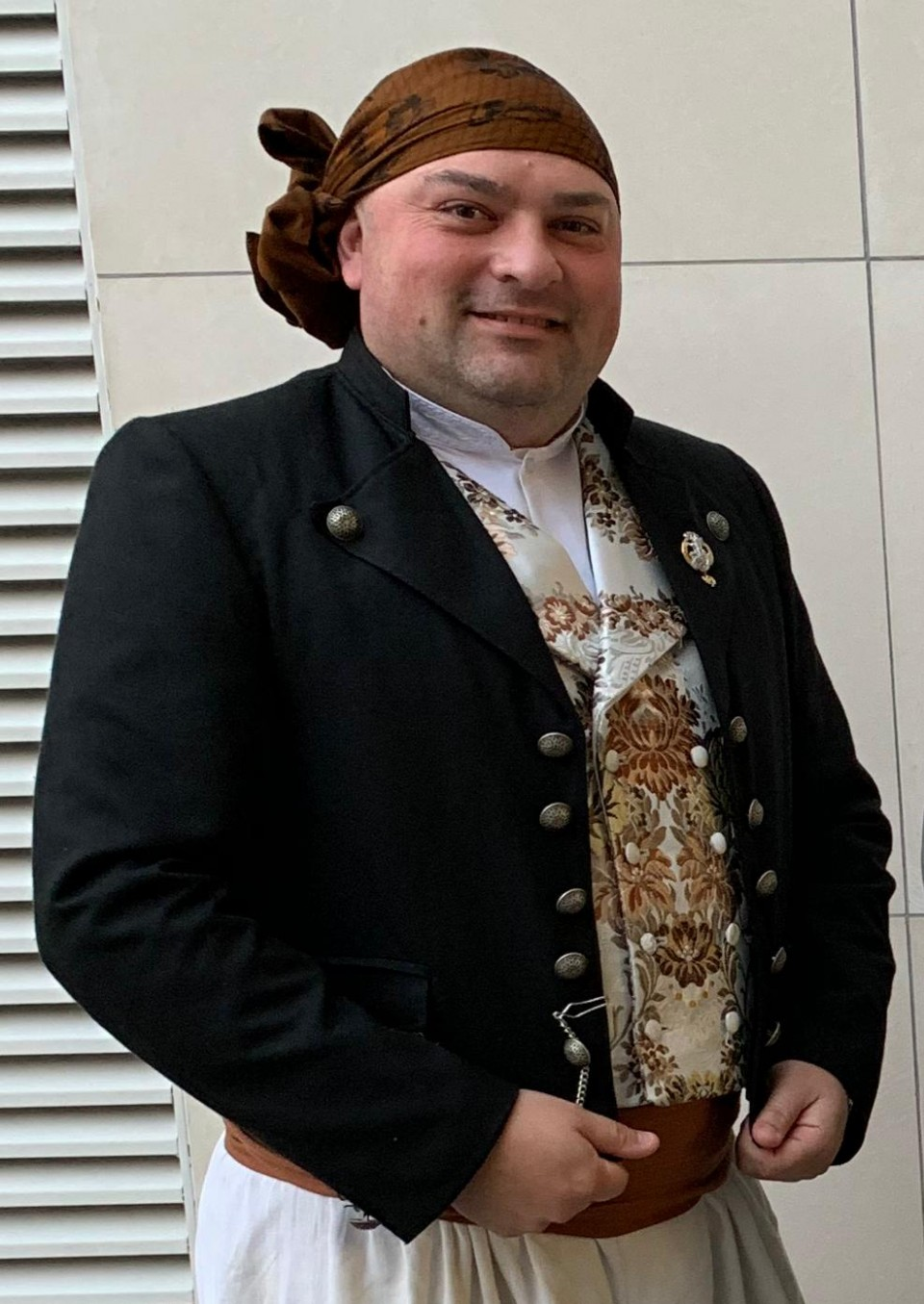 The Falla of Canary Islands-Trafalgar re-elect its President for the Fallas 2021